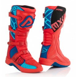 Buty ACERBIS X-TEAM czerwono-niebieskie + DONUTSy GRATIS