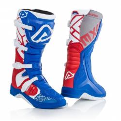 Buty ACERBIS X-TEAM niebiesko-czerwone + DONUTSy GRATIS