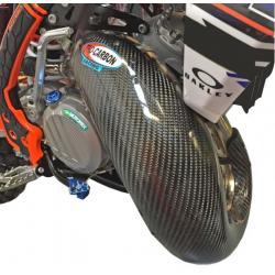 Osłona dyfuzora PRO-CARBON KTM EXC 250/300