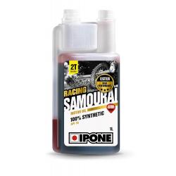 Olej IPONE SAMOURAI RACING 2T truskawkowy 100% syntetyczny 1L