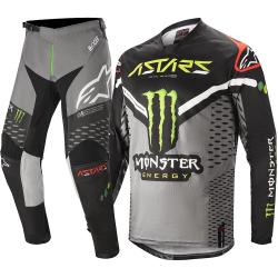 Combo ALPINESTARS MONSTER RAPTOR S20 (bluza + spodnie) rękawice GRSTIS