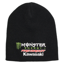 Czapka zimowa Pro Circuit Team Monster KAWASAKI