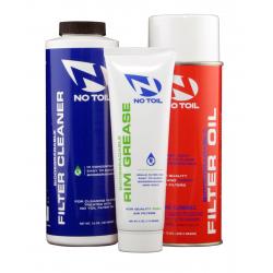 Zestaw NO-TOIL Aerosol Filter Oil ,Cleaner i Rim Grease 3 pak