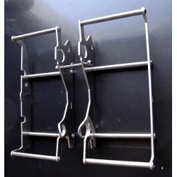 Osłony wzmocnienia chłodnic KTM/HUSQVARNA 2017 dla modeli z zainstalowanym wentylatorem