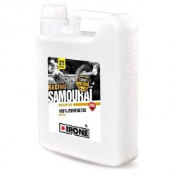 Olej IPONE SAMOURAI RACING 2T truskawkowy 100% syntetyczny 5L PROMOCJA