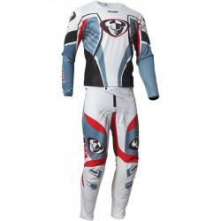 Zestaw spodnie + bluza THOR PULSE 03 LE STEEL/RED PANT